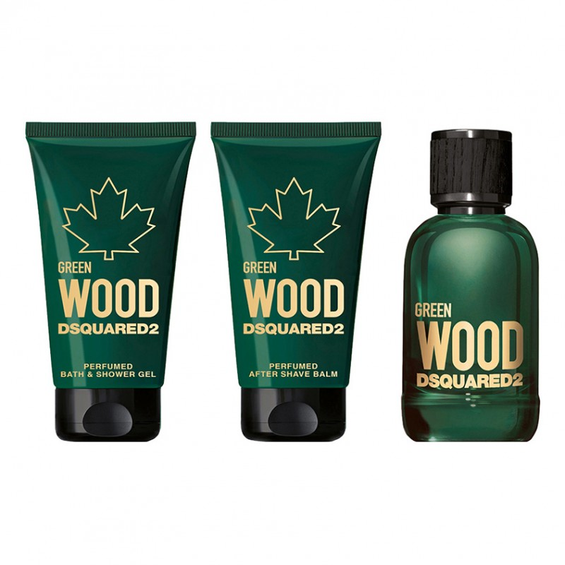 Набор Green Wood Pour Homme