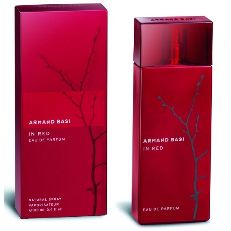 In Red edp TESTER