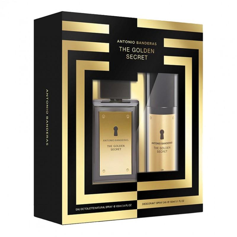 Набор мужской с дезодорантом The Golden Secret