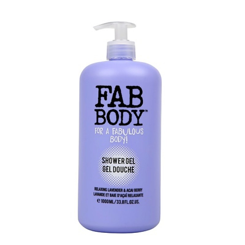 Гель для душа Fab Body Relaxing Lavender & Acai Berry