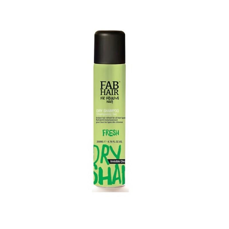 Сухой шампунь для волос Fab Hair Invisible Clear