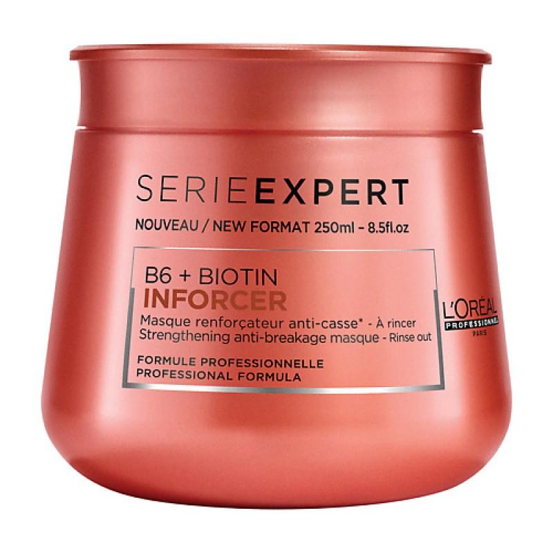 Укрепляющая маска против ломкости волос Serie Expert Inforcer