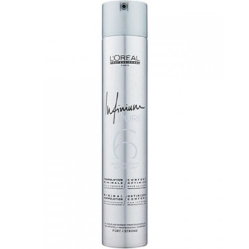 Лак для волос Infinium Pure Strong  - 500ml L'oreal Professionnel