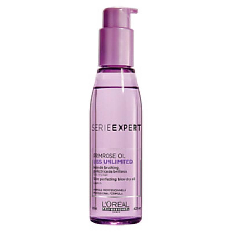 Термоактивное масло для непослушных волос SERIE LISS UNLIMITED  - 125ml L'oreal Professionnel