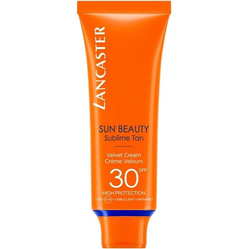 Нежный крем Сияющий загар для лица Sun Beauty SPF30