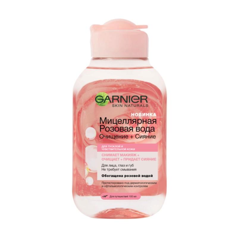 Мицеллярная вода с розовой водой