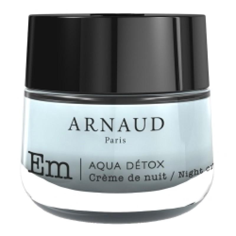 Крем для лица ночной AQUA DETOX для сухой и чувствительной кожи