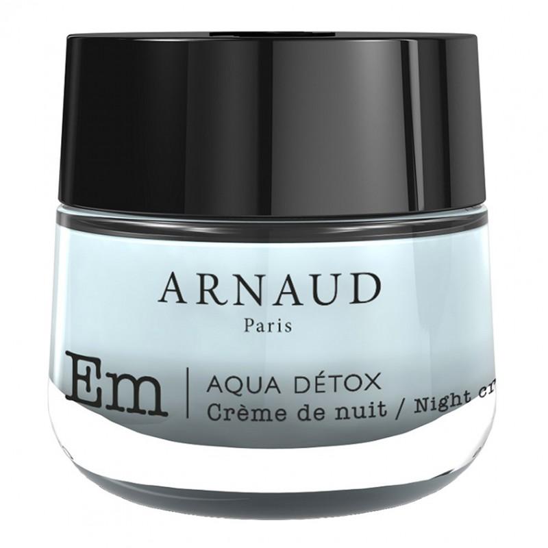 Крем для лица ночной для сухой и чувствительной кожи AQUA DETOX