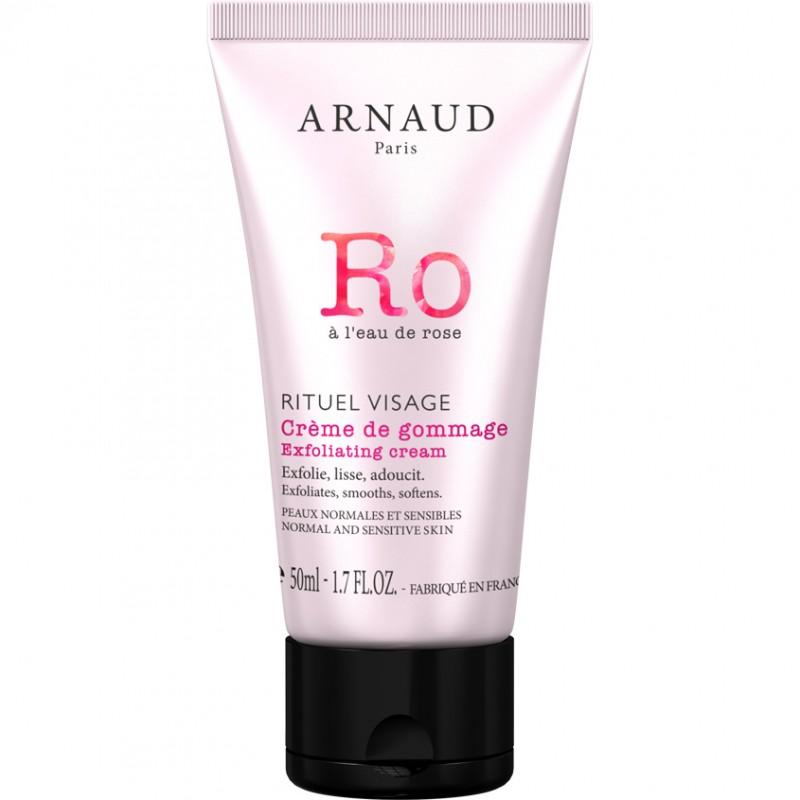 Крем-гоммаж для лица с розовой водой RITUEL VISAGE Arnaud Paris