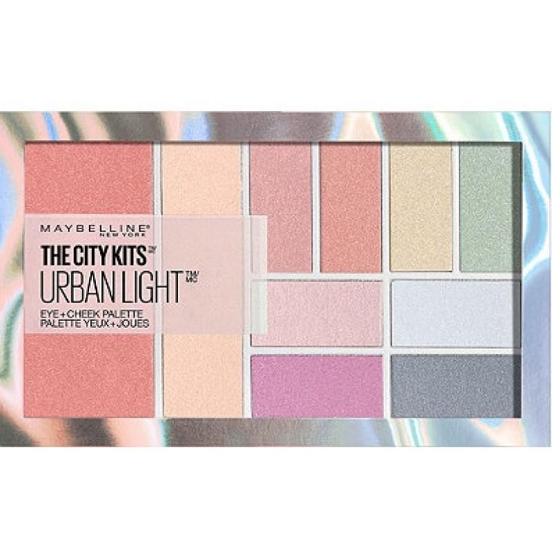 Палетка для макияжа  Urban Light & Cheek Palette  Maybelling