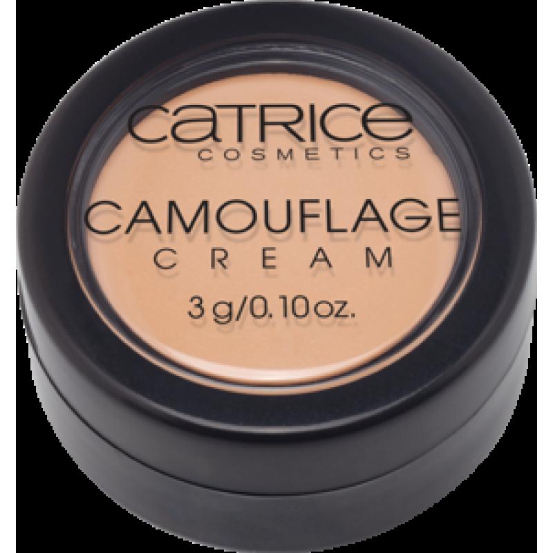 Камуфляжный крем  Camouflage Cream № 020 LIGHT BEIGE Catrice