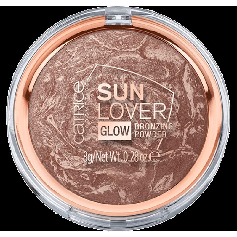 Пудра-бронзатор Sun Lover Glow Bronzing Powder Catrice
