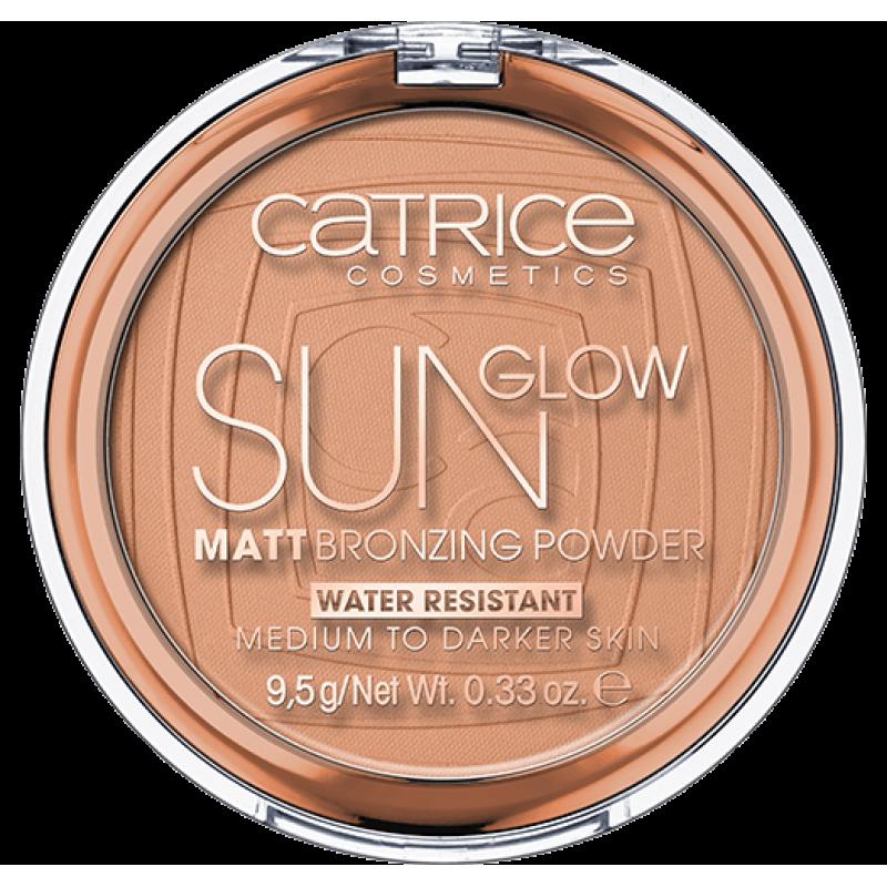 Бронзирующая пудра Sun Glow Matt Bronzing Powder 035 Catrice