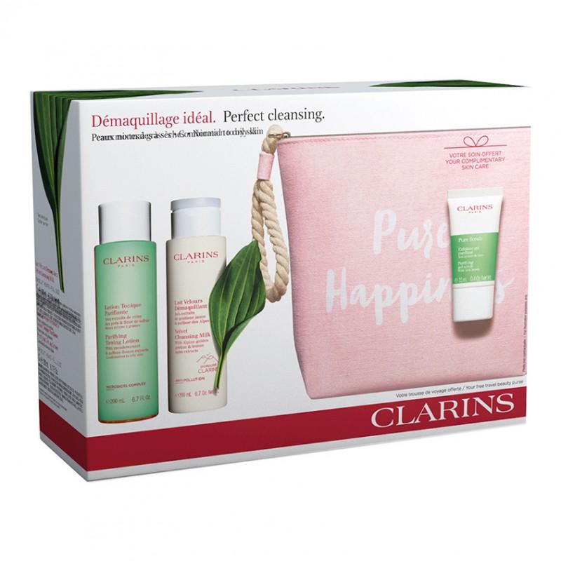 Набор для жирной кожи Pure Happiness Face Cleansing