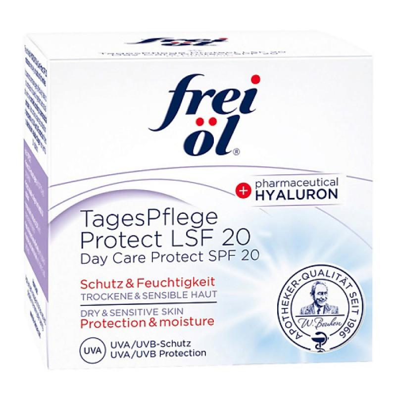 Дневной увлажняющий крем Hydrolipid Day Care Protect SPF 20 Frei Ol