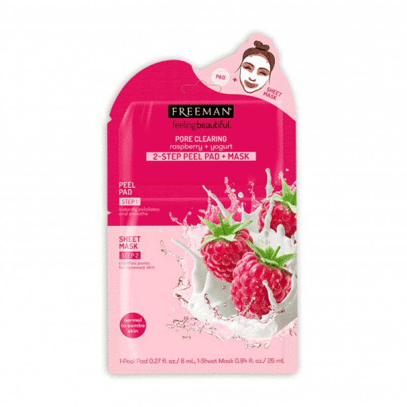 2-шаговая пилинг-маска Yogurt & Strawberry