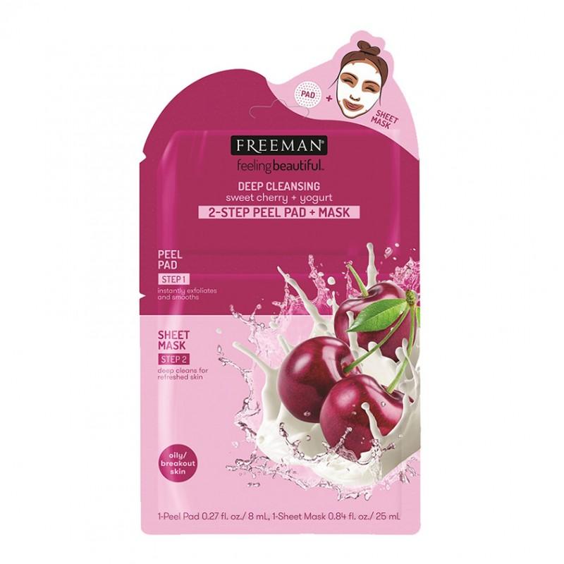 2-шаговая пилинг-маска Yogurt & Sweet Cherry