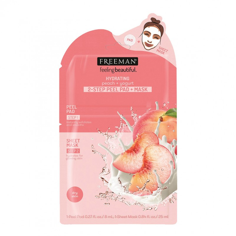2-шаговая пилинг-маска Yogurt & Peach