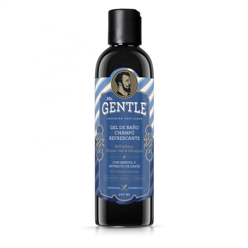 Шампунь и гель для душа освежающий Mr.Gentle