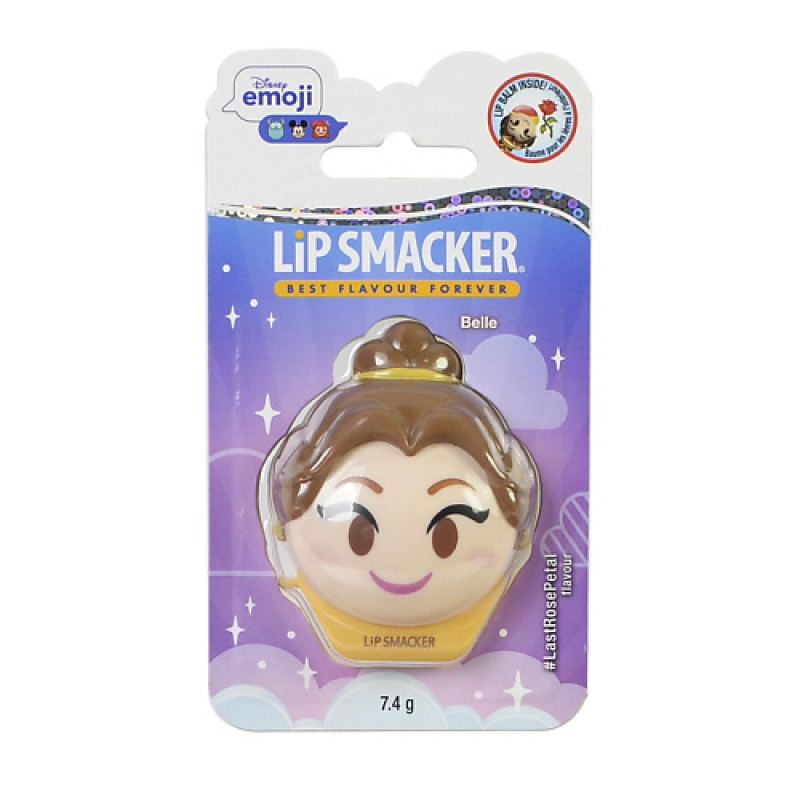 Бальзам для губ Disney Emoji Belle Lip Smaker