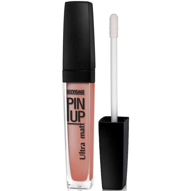 Жидкая матовая помада для губ Luxvisage Pin Up Ultra Matt 24