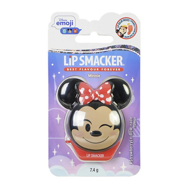 Бальзам для губ Disney Emoji Minnie Lip Smaker
