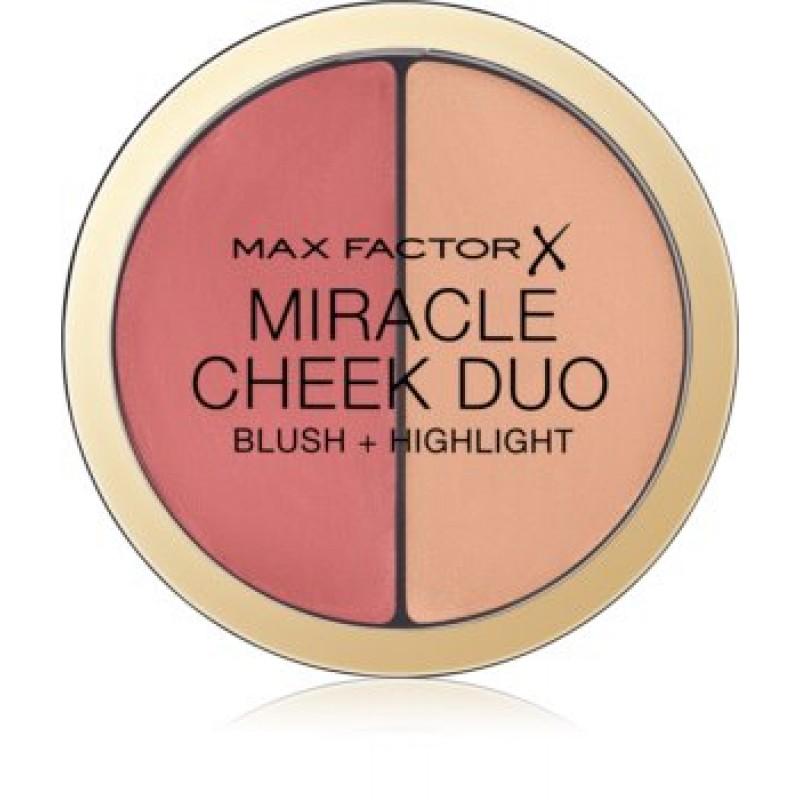 Палетка для скульптурирования лица Miracle Cheeck Duo 20