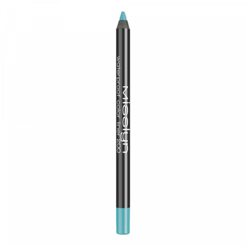 Водостойкий карандаш для глаз Waterproof Color Liner 200