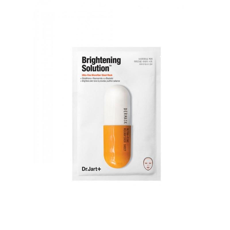 Маска тканевая Brightening Solution осветляющая  - 28ml Dr.Jart+