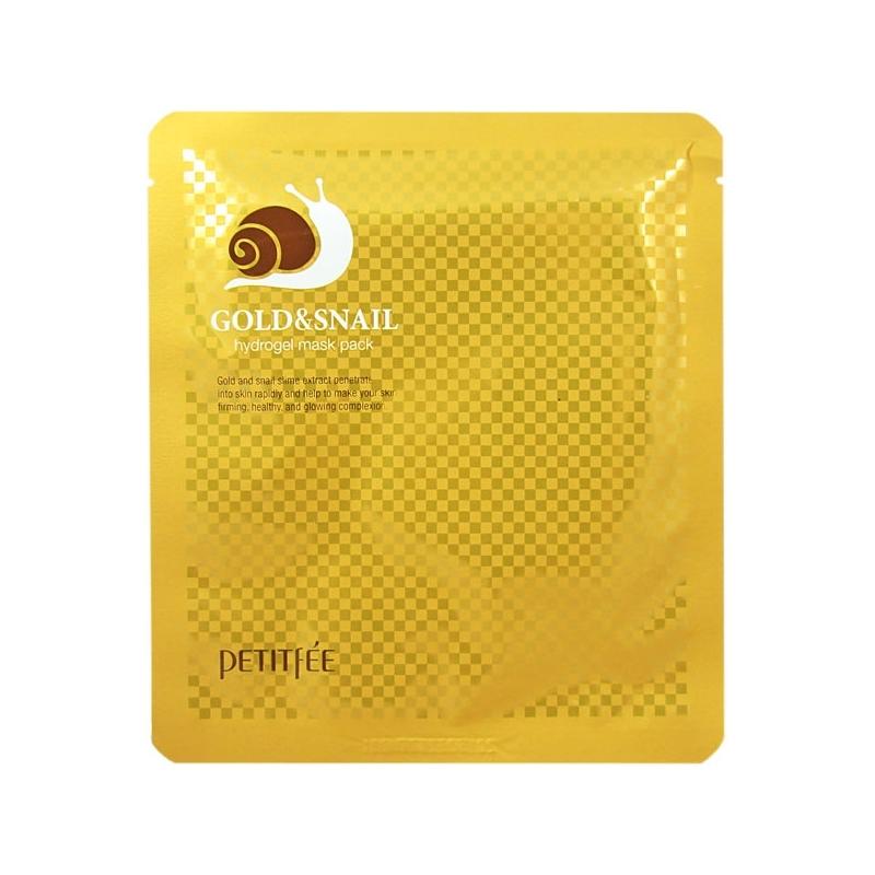 Гидрогелевая маска с улиточным муцином Gold & Snail