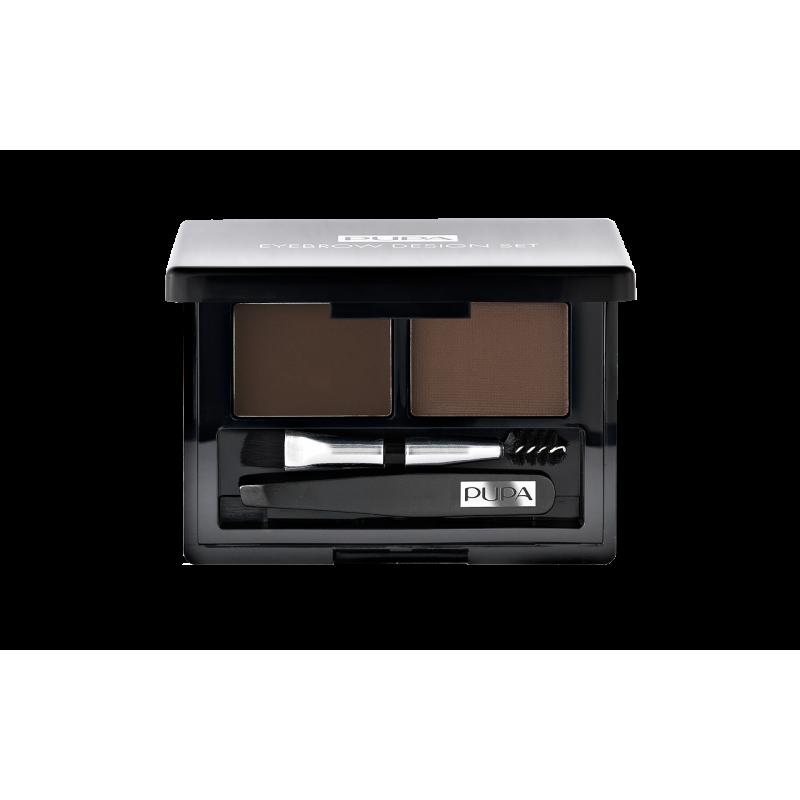 Набор для бровей Eyebrow Design Set 001  - 1ml Pupa