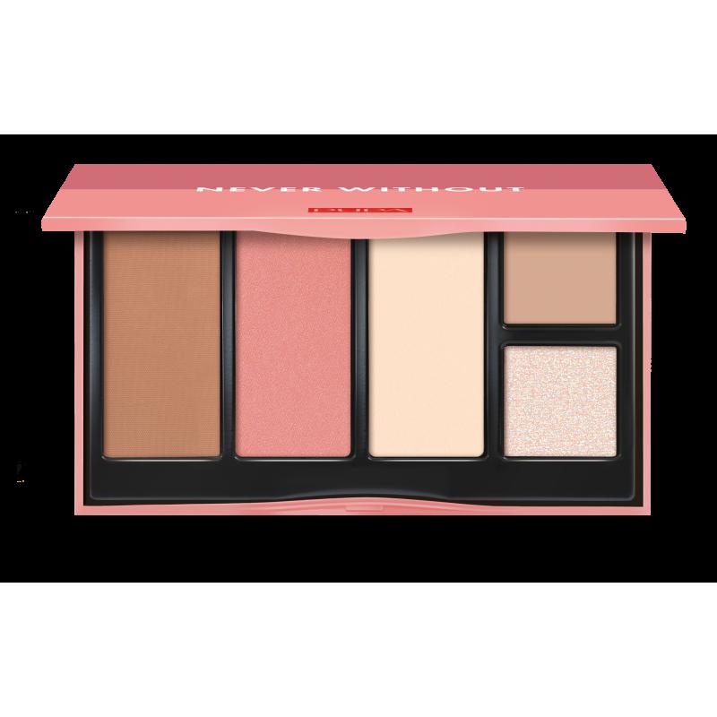 Палетка для макияжа лица Never Without Palette 001  - 15ml Pupa