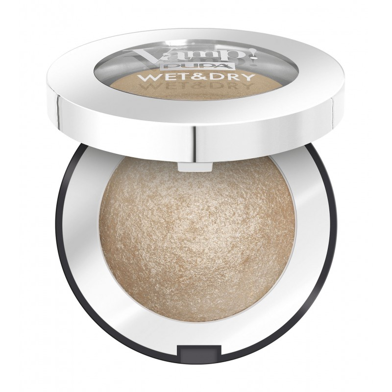 Запеченные тени для век Vamp! Wet&Dry Eyeshadow 100