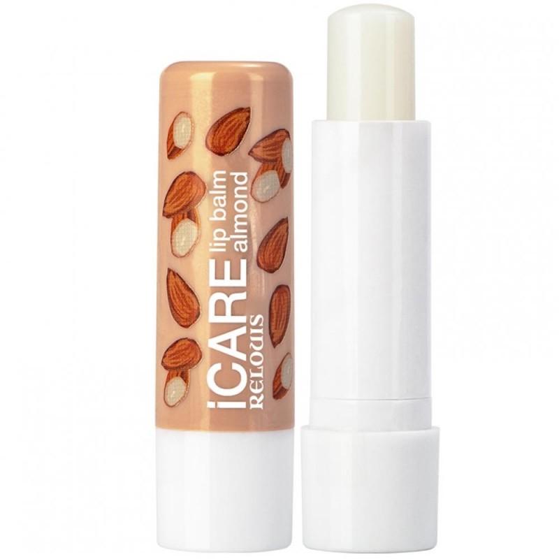 Бальзам-уход для губ iCARE lip balm(almond)