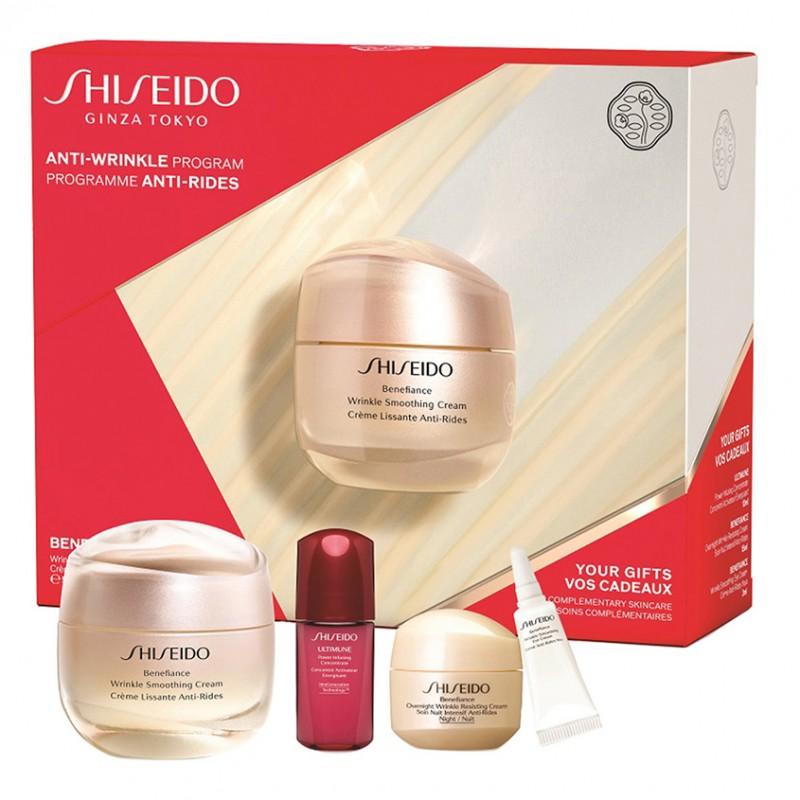 Набор Benefiance Wrinkle Smoothing Cream Value  Shiseido