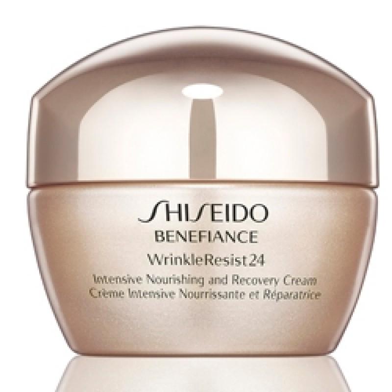 Восстанавливающий питательный крем Benefiance WrinkleResist24  - 50ml Shiseido