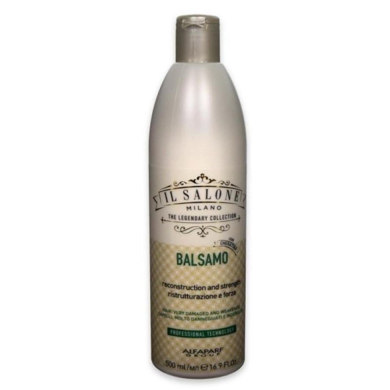 Бальзам для сильно поврежденных волос  IL Salone Reconstruction