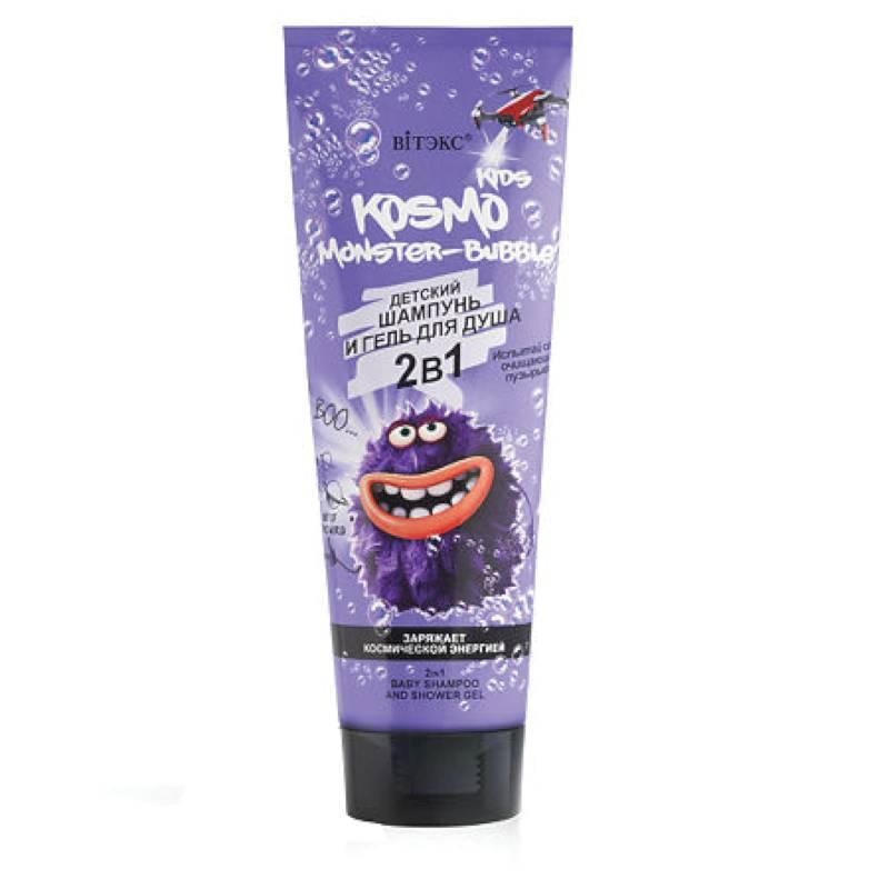 Шампунь-гель для душа Kosmo Kids Monster-Bubble  - 250ml Витэкс