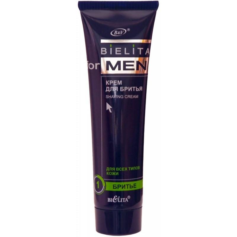 Крем для бритья For Men  - 100ml Bielita