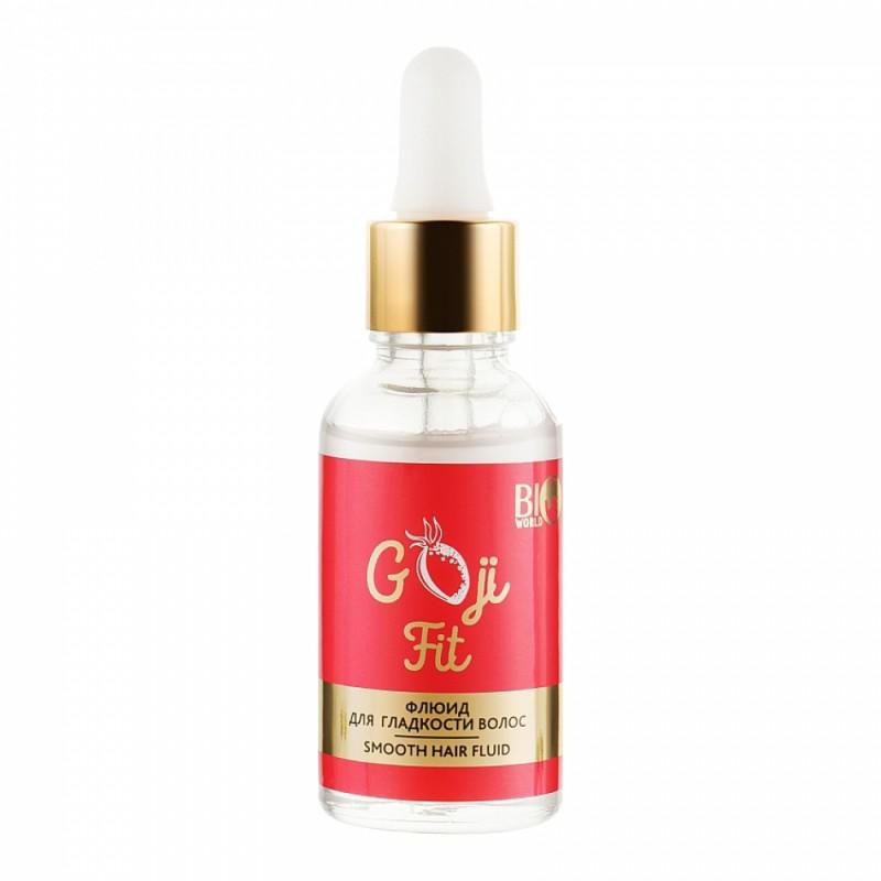 Флюид для гладкости волос Goji Fit Smooth Hair Fluid  - 30ml Bio World