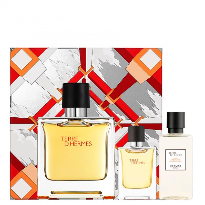 Набор Terre d'Hermès Parfume  Hermes