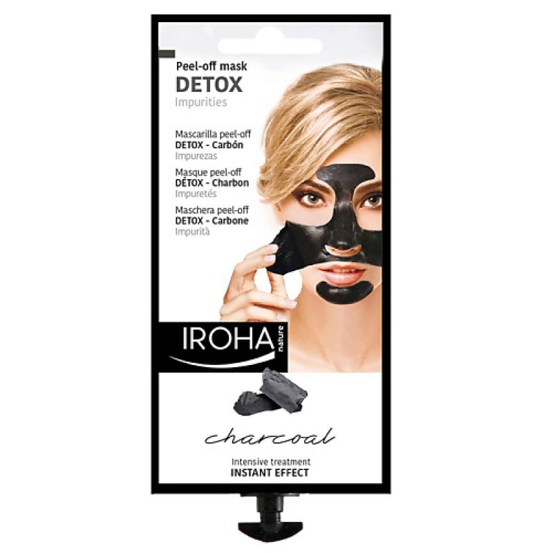 Очищающая маска-пилинг для лица с черным углем