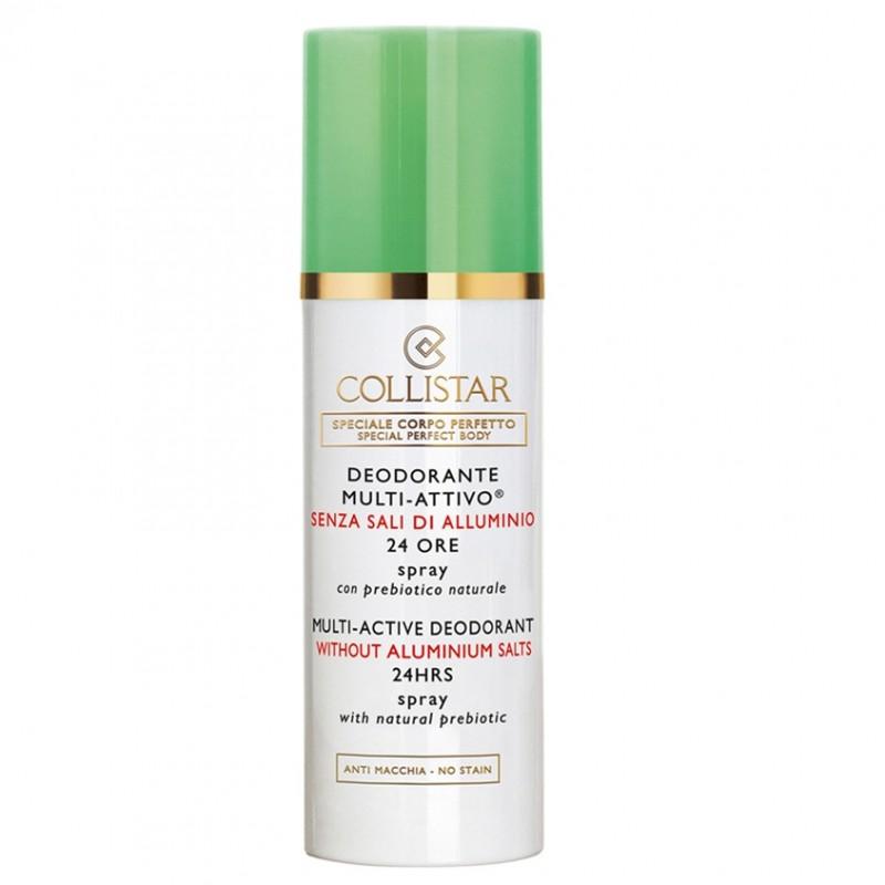 Дезодорант-спрей мультиактивный 24 часа без солей алюминия Collistar