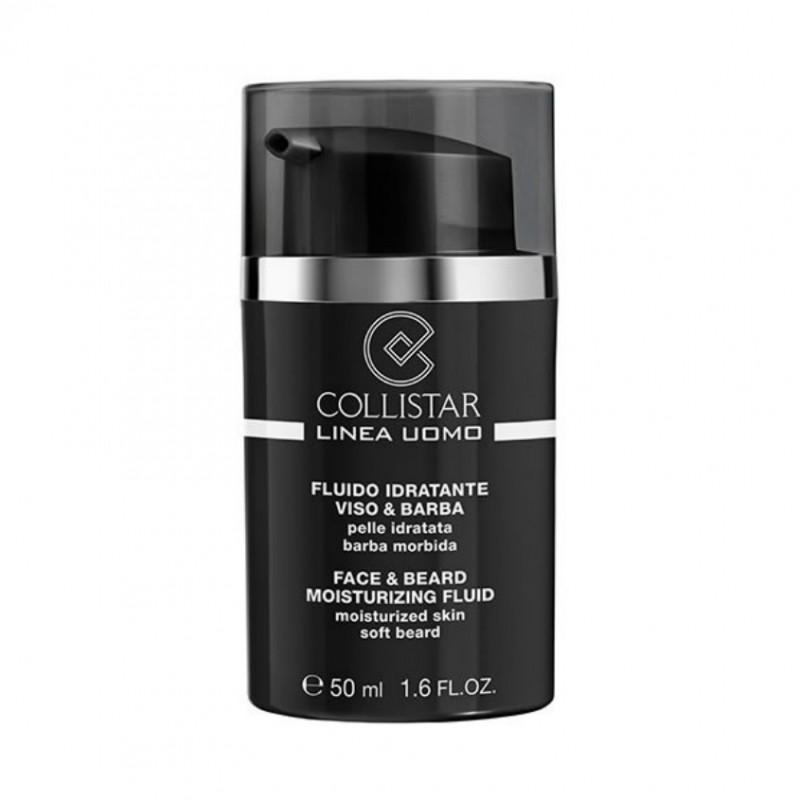Увлажняющий флюид для кожи и бороды для мужчин Linea Uomo Collistar