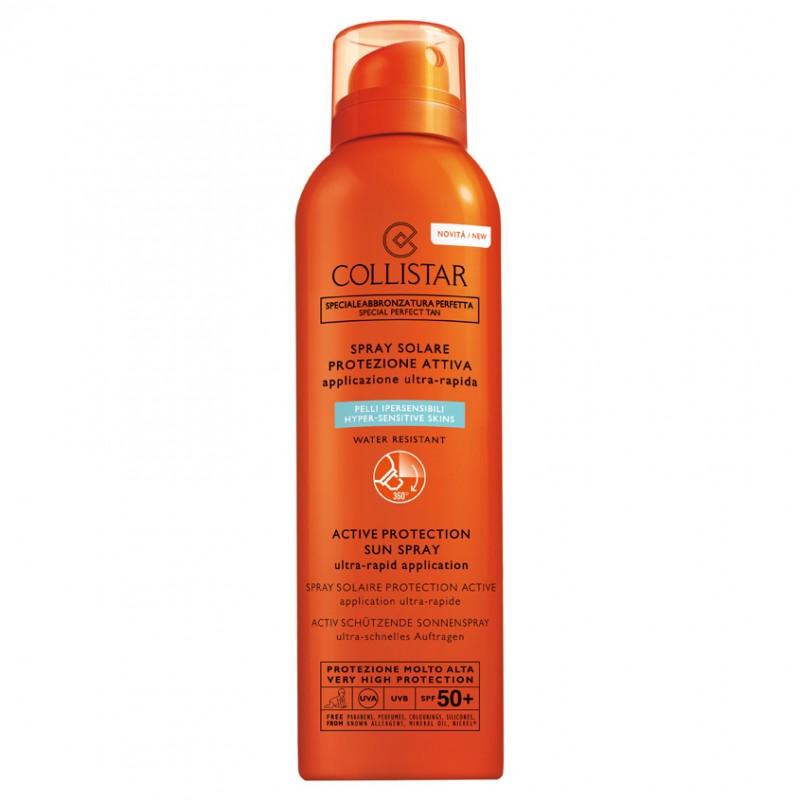 Активный солнцезащитный спрей SPF 50+ Collistar Collistar
