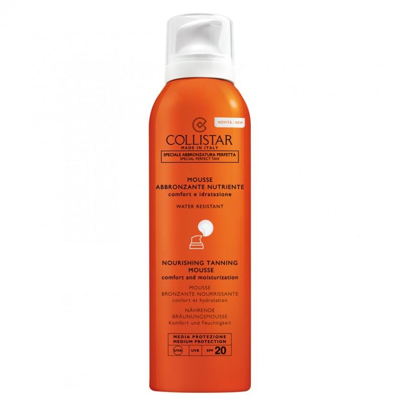 Мусс увлажняющий и питающий кожу водостойкий SPF20 Collistar Collistar