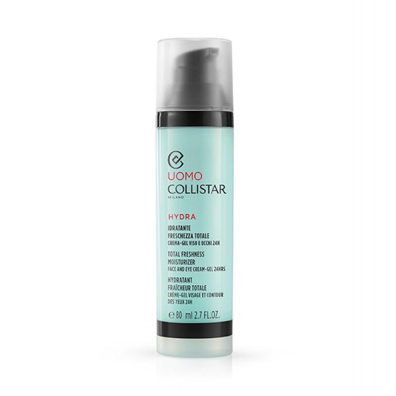Крем-гель для лица и глаз 24 часа TOTAL FRESHNESS MOISTURIZER  - 80ml Collistar