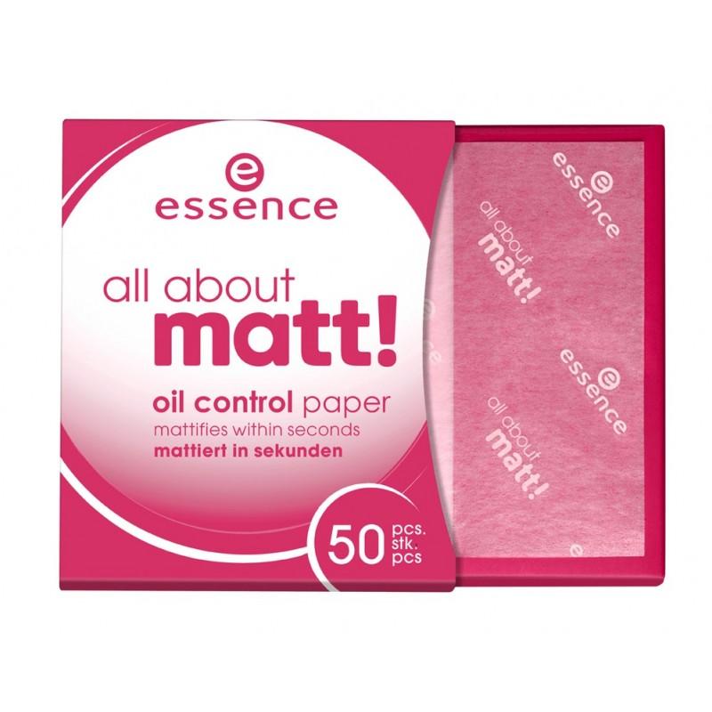 Матирующие салфетки all about matt! oil control paper 50шт.