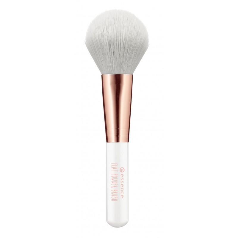 Кисть косметическая для пудры flat powder brush