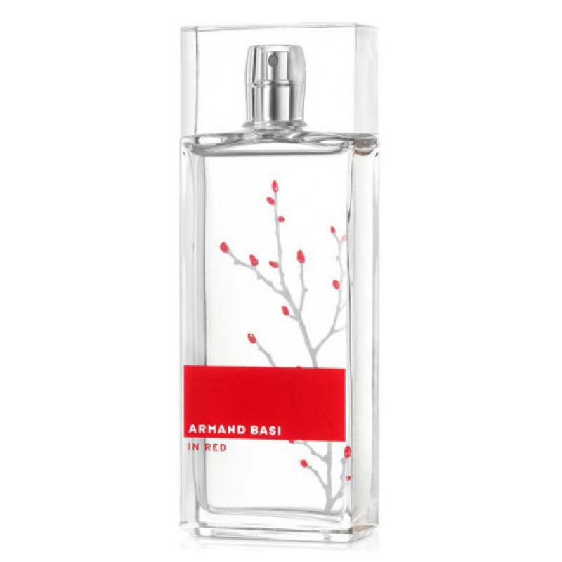 In Red edt TESTER